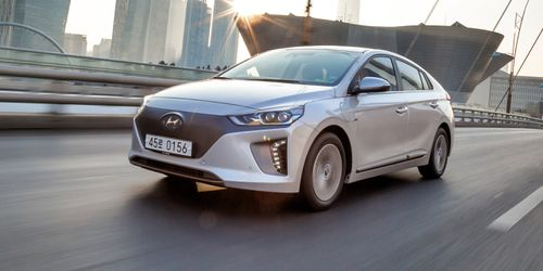 The Hyundai Ioniq Electric will hit Australian shores later this year. Picture: Supplied