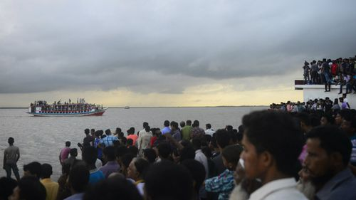 Bodies pulled from the water, dozens missing after 'overloaded' ferry sinks in Bangladesh