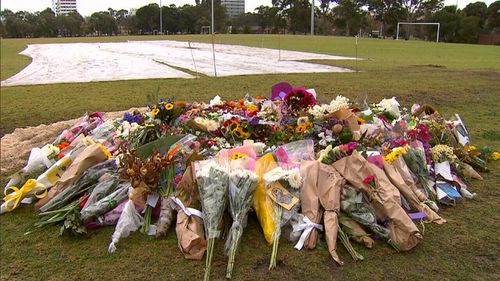 Dixon's memorial in Melbourne has attracted hundreds of commemorations.