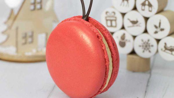 Kirsten Tibballs' Christmas macarons