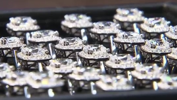 One hundred diamond rings to be hidden in treasure hunt