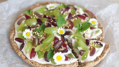 "Recipe: <a href=""http://kitchen.nine.com.au/2018/03/01/16/11/breakfast-granola-pizza-recipe"" target=""_top"">Breakfast granola pizza</a>"