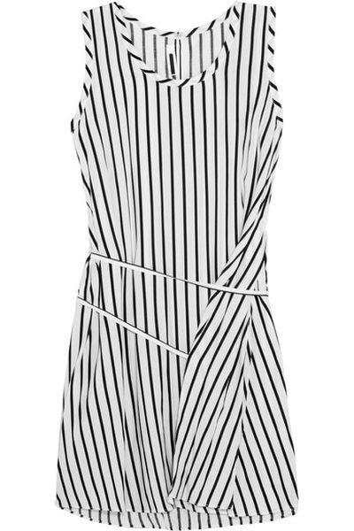 """McQ Alexander McQueen striped voile mini dress $420 at <a href=""""https://www.net-a-porter.com/au/en/product/711262/McQ_Alexander_McQueen/striped-voile-mini-dress"""" target=""""_blank"""">netaporter.com</a>"""