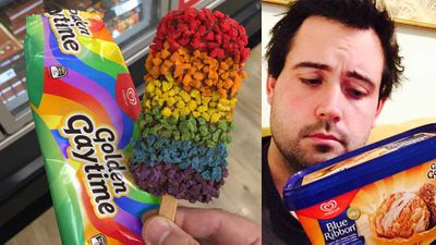 Man invents Rainbow Gaytime in time for Mardi Gras weekend