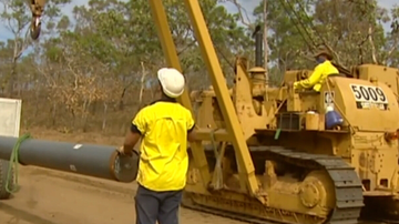Gas pipeline set for the Northern Territory