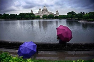 Victoria Memorial Hall in West Bengal, India