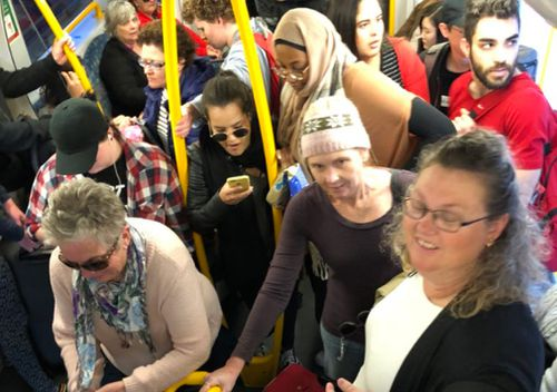 Sydney Trains commuters could be compensated over yesterday's rail chaos. Picture: Twitter