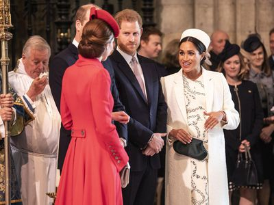 Meghan at Commonwealth Day church service, March 2019