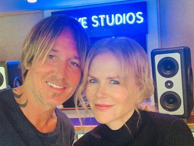 Nicole Kidman, Keith Urban, coronavirus, quarantine, concert, studio