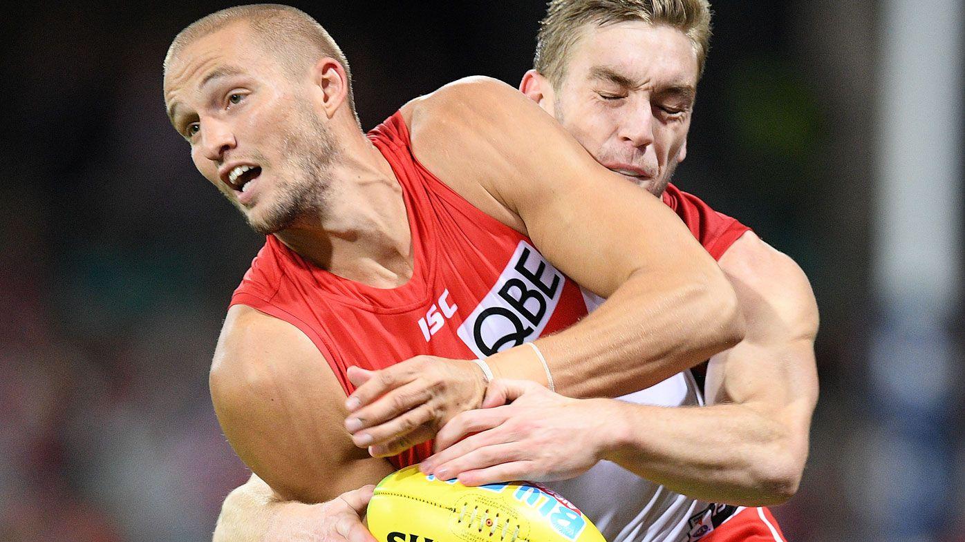 Sydney Swans star Sam Reid nailed by Lloyd as Judd calls for backline switch