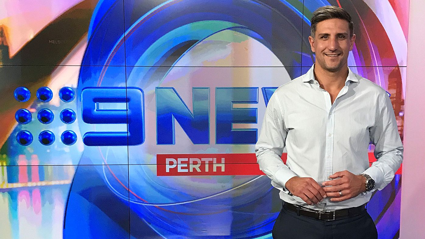 Former AFL star Matthew Pavlich joins Nine in Perth