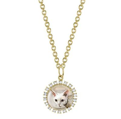 <p>Irene Neuworth custom pet pendant, $9338.60 (US$6850)</p>