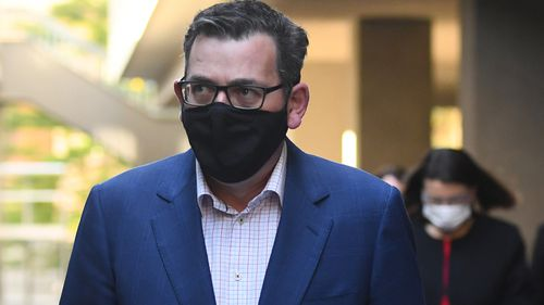 Victorian Premier Daniel Andrews says ADF support for hotel quarantine was not on offer.