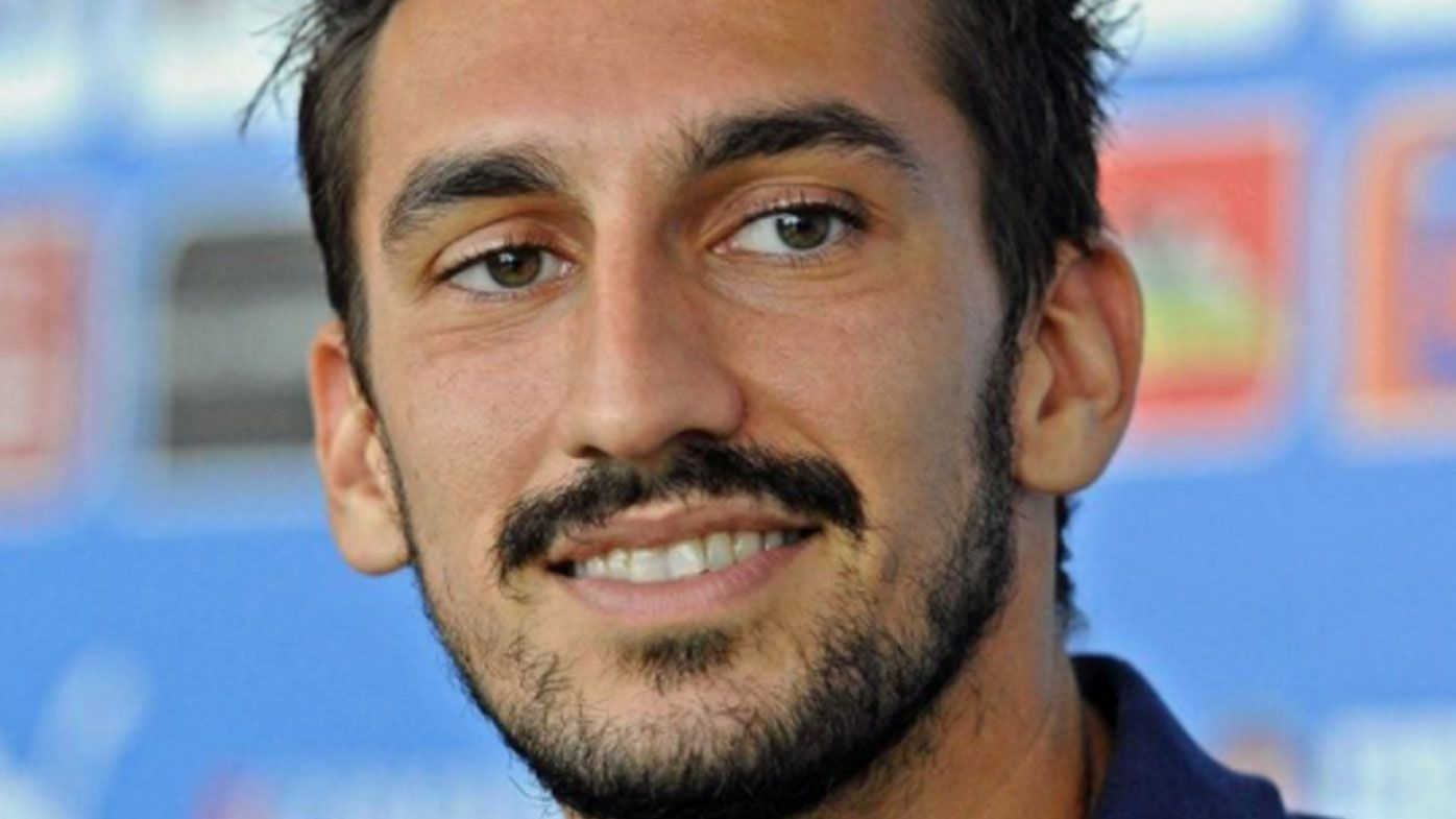 Autopsy says Fiorentina captain Davide Astori died of cardiac arrest