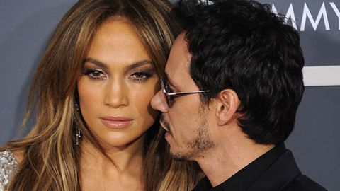 Caught out: Jennifer Lopez hooks up with ex Marc Anthony