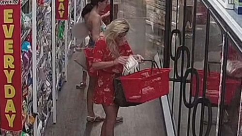 It is alleged the group steal from retail shops, cafes, restaurants and defrauded elderly residents. (9NEWS)