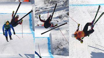 Horror high-speed crash mars ski cross in Pyeongchang