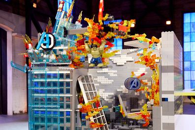 LEGO Masters 2020 Episode 11 Marvel Cinematic Universe Sarah and Fleur