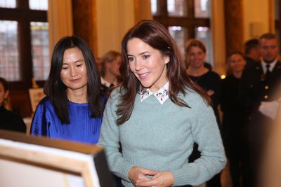 Princess Mary attends art competition, November 2019