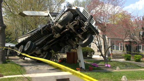 Tree removal failure in Louisville street