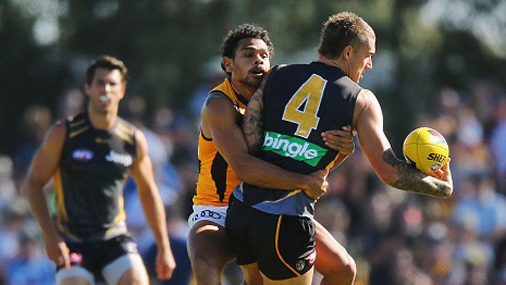 Tigers' star duo seal AFL pre-season win