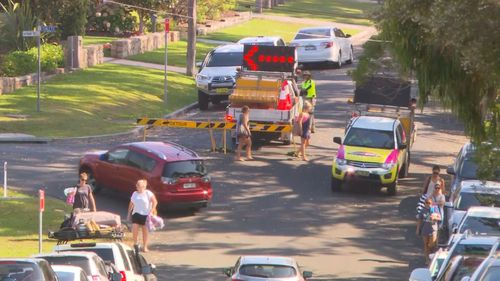 Shoalhaven City Council has appointed traffic controllers to redirect visitors from Hyams Beach.