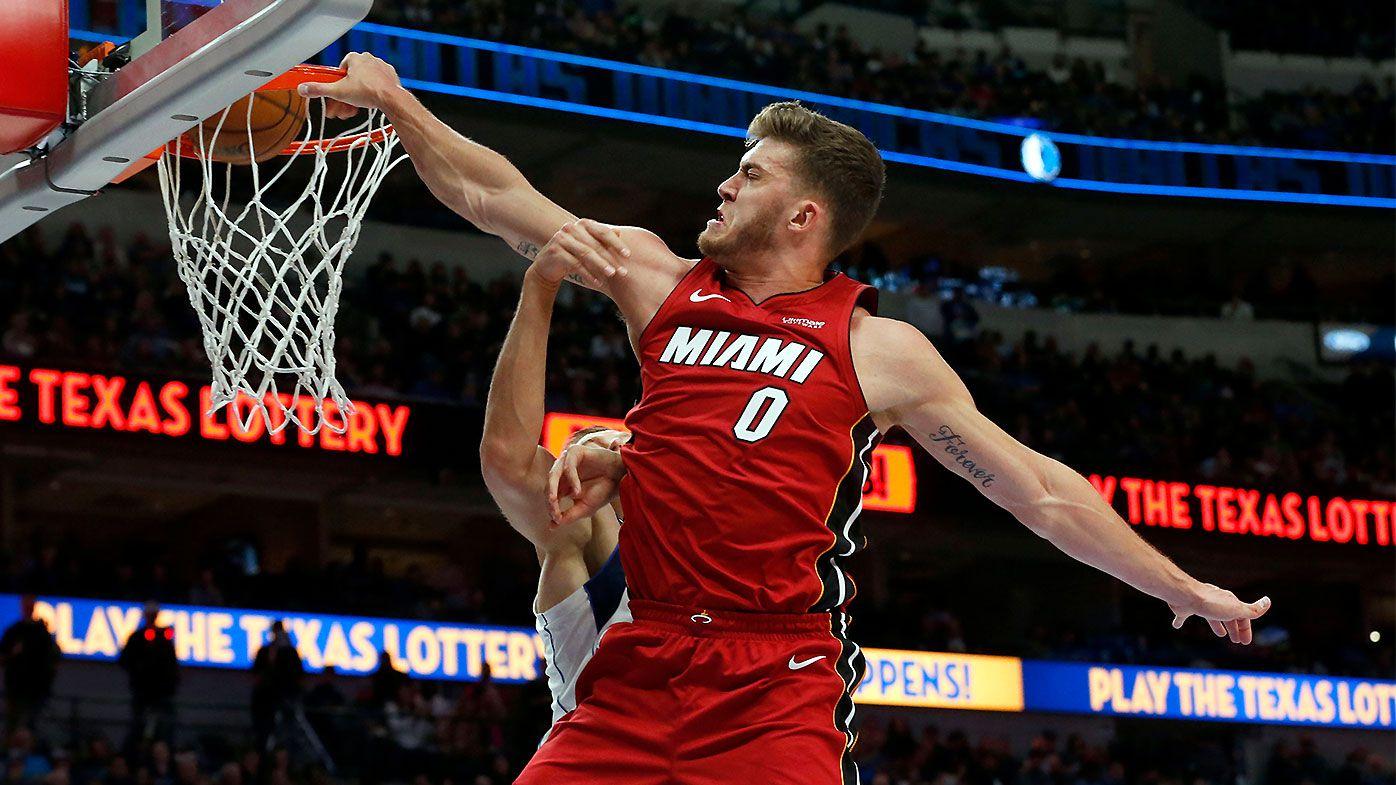 Meyers Leonard traded from Miami Heat to Oklahoma City Thunder after racist slur