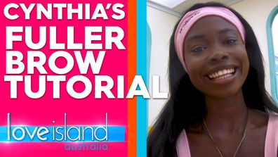 Cynthia's fuller brow makeup tutorial