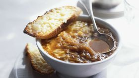 French onion soup that's so easy