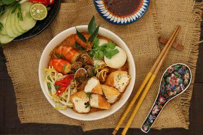 <strong>2. Curry laksa in Kuala Lumpur, Malaysia</strong>