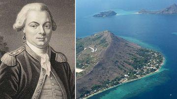 La Perouse and Murray Island. (Garrick Hitchcock)