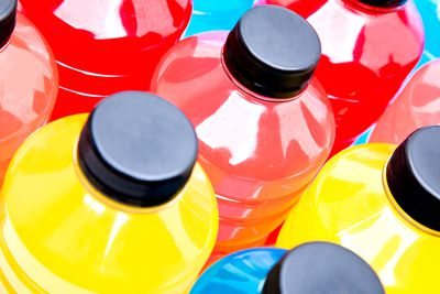 MYTH: Sports drinks are better than water when working out