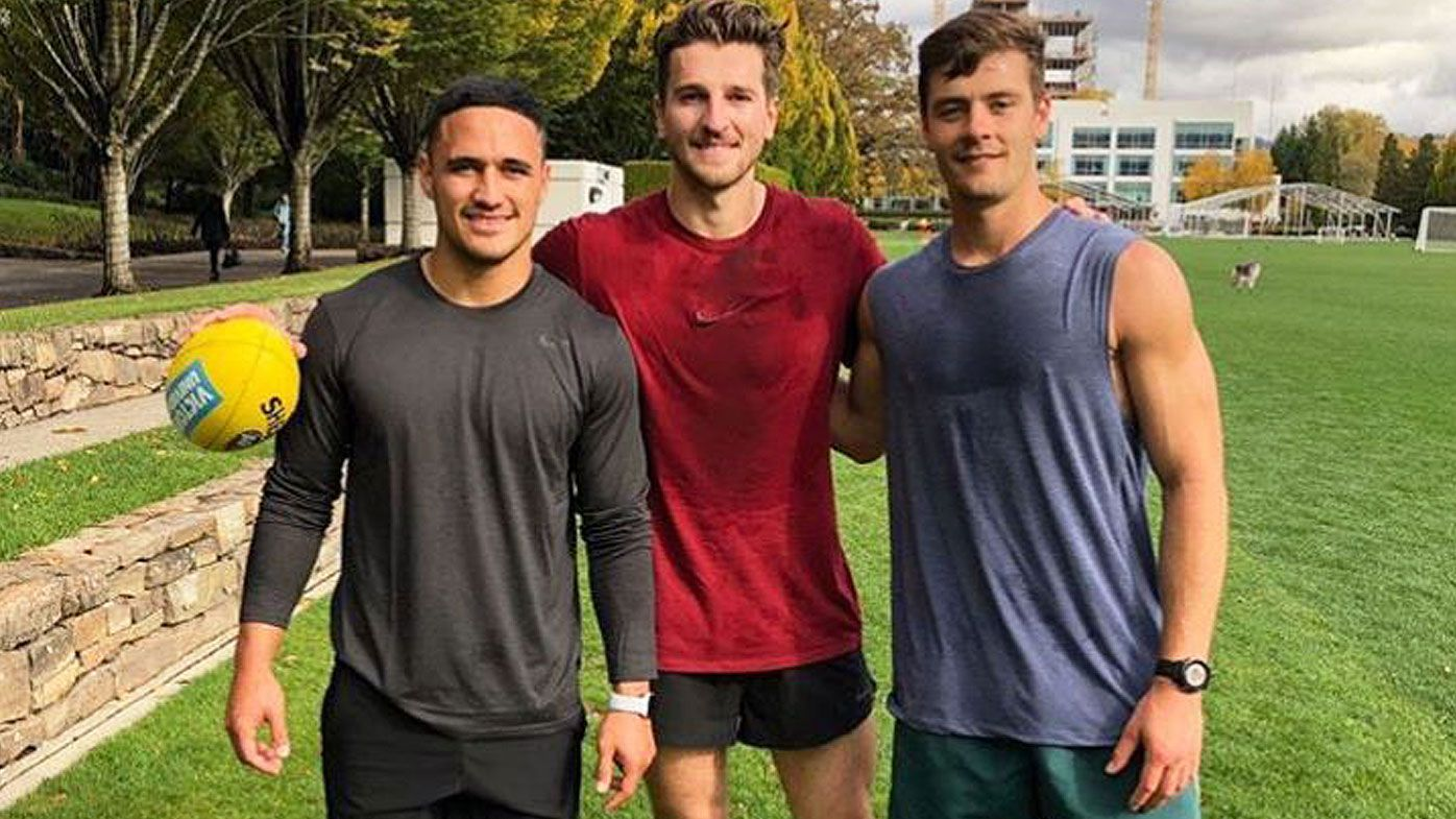 Did AFL Western Bulldogs star Marcus Bontempelli know more than he let on about Valentine Holmes' NFL move?