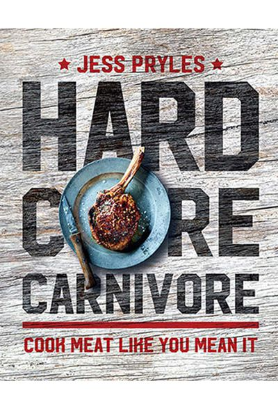 "<p><a href=""https://www.murdochbooks.com.au/browse/books/cooking-food-drink/food-drink/Hardcore-Carnivore-Jess-Pryles-9781760522575"" target=""_top"" draggable=""false"">Hardcore Carnivore - Cook meat like you mean it</a>, by Jess Pryles, AUD $39.99</p> <p>A book for the dad that loves to get into his meat, from kangaroo to ribs and cracking, all from the hardcore carnivore herself, Jess Pryles.</p>"