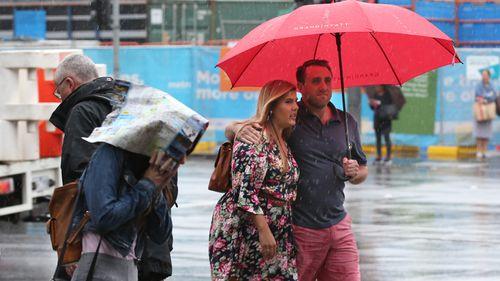 Australia weather rainfall