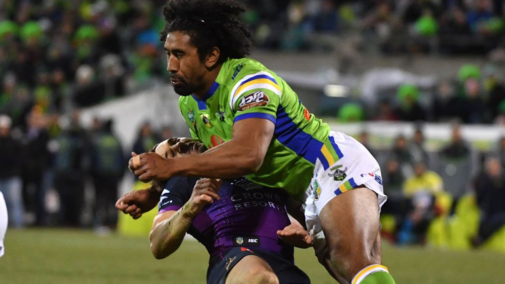 NRL: Canberra Raiders forward Sia Soliola may not play again this year