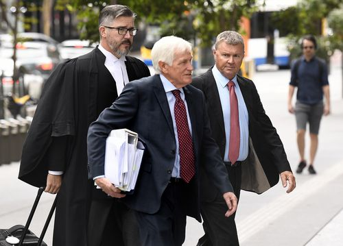 Former union boss Dave Hanna pleads not guilty to raping woman