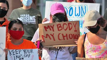 Under Texas law, any person can sue any other person for A$13,000 if they help a woman get an abortion.
