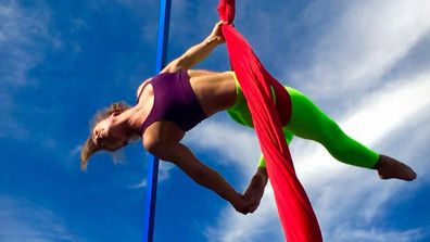 Celeste Dixon is an aerial gymnast who competes on Australian Ninja Warrior.