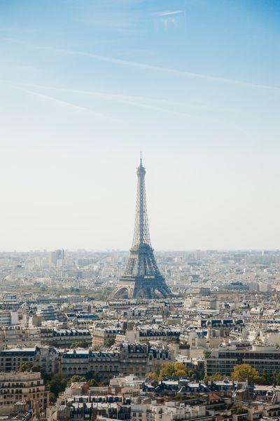 Paris – 6.6 million hashtags
