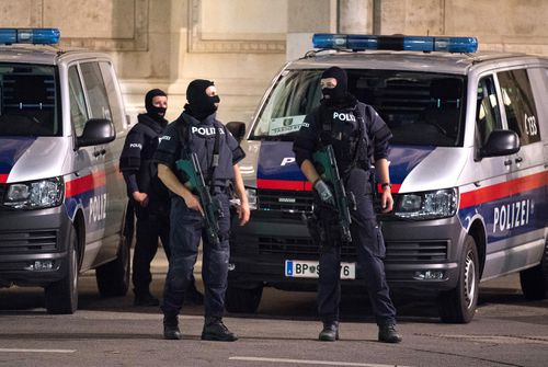 Police blocked off nearby streets around Schwedenplatz square and urged people to stay away in what seems to be an ongoing event possibly involving several attackers