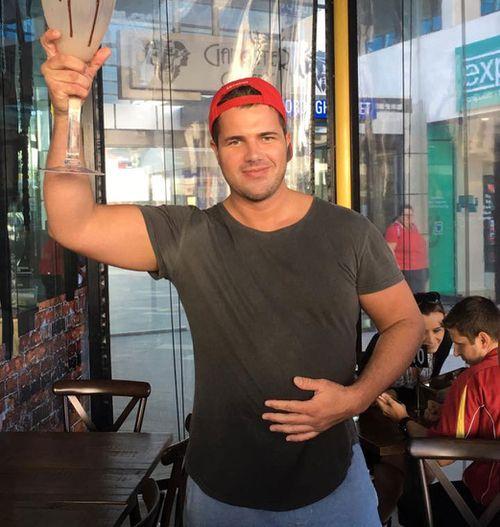 Gold Coast café applaud Gable Tostee on social media for downing gargantuan milkshake
