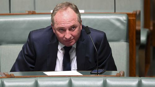Barnaby Joyce says he's struggling to make ends meet.