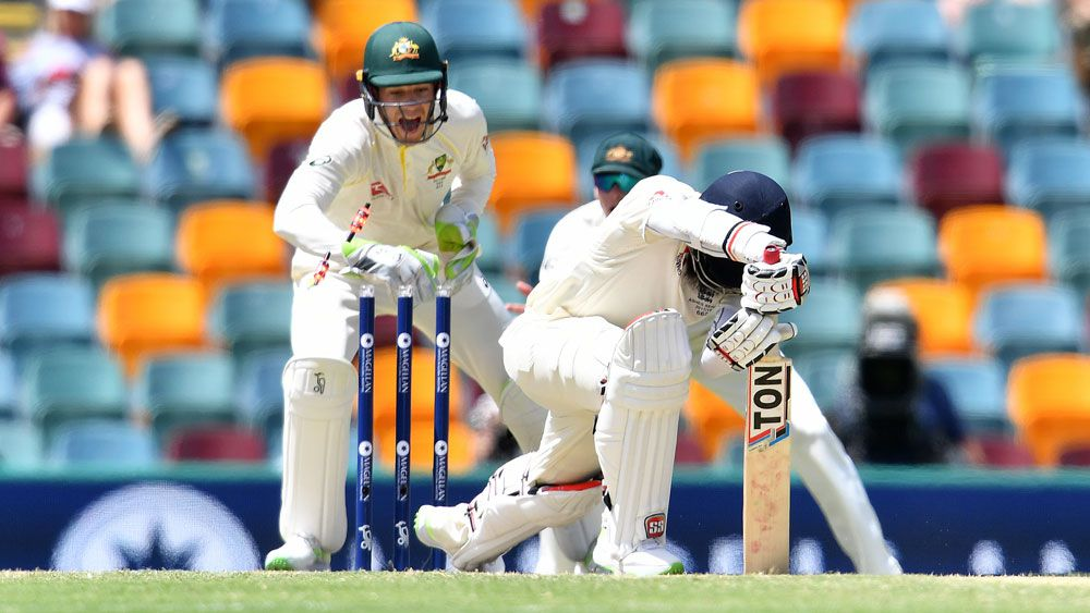Australian wicketkeeper Tim Paine redeems himself with Moeen Ali stumping in first Ashes Test
