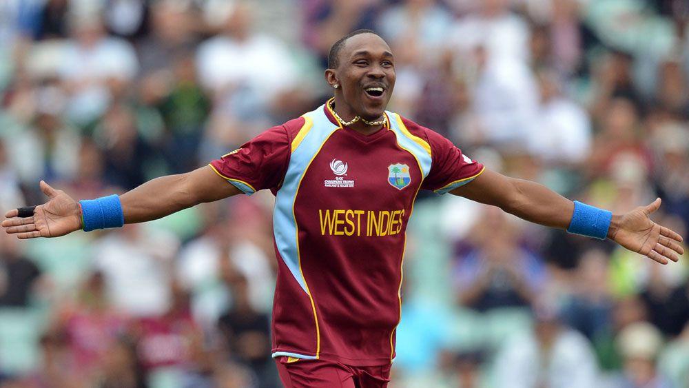 West Indies allrounder Dwayne Bravo. (AAP)