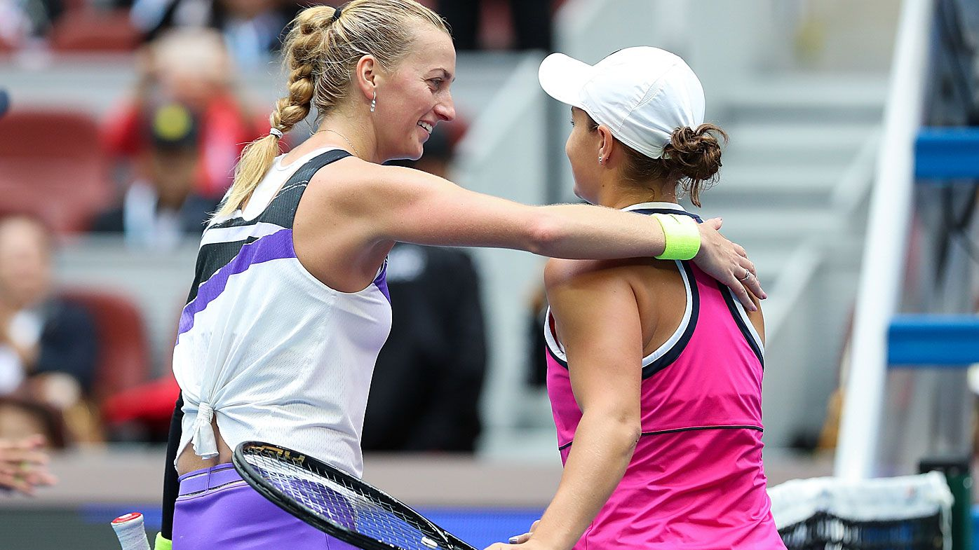 Ash Barty defeats Petra Kvitova to make Beijing WTA semi-final