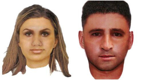 Police are now searching for this woman and man. Picture: Victoria Police