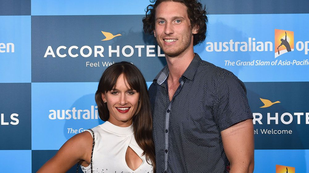 Arina Rodionova staying focused despite husband Ty Vickery's arrest for extortion