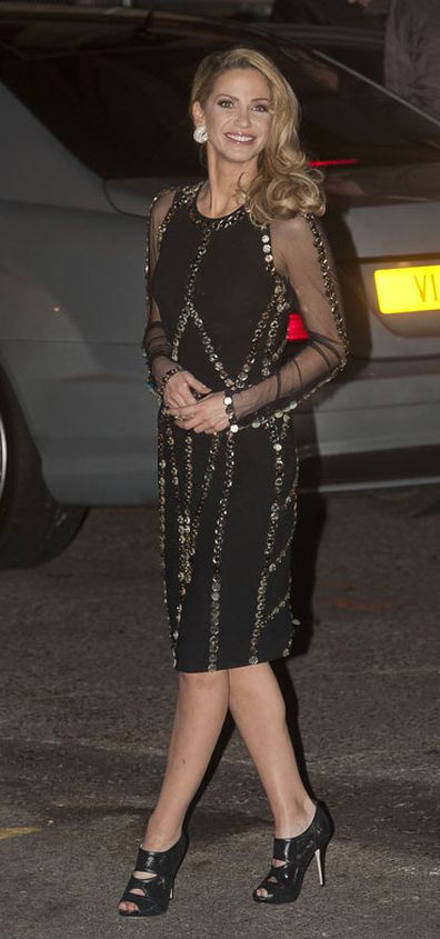 Sarah Harding sighting from Girls Aloud sighting on November 19, 2012 in London, England