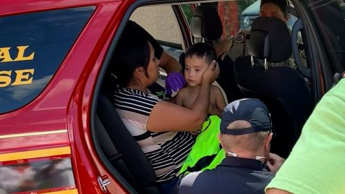 A toddler who vanished Wednesday afternoon near Magnolia, Texas, was found Saturday morning alive and well.